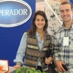 Mercolactea 2014 con el socio-gerente de Emperador, empresa láctea